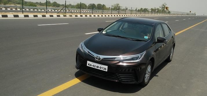 review of new expressway and facelifted corolla altis