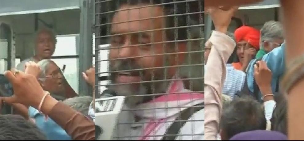 MP farmer's agitation: Yogendra Yadav, Medha Patkar and Swami Agnivesh detained in Ratlam