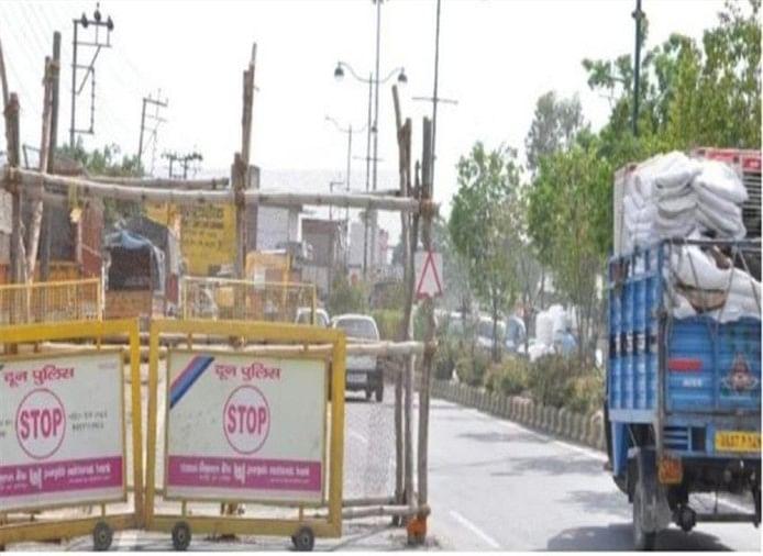route divert in dehradun