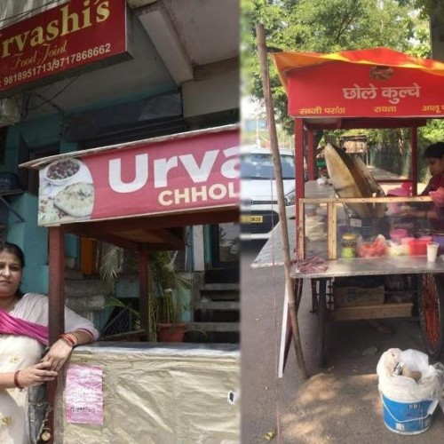 gurgaon lady who run chhole kulche stall to support her family now have her own restaurant