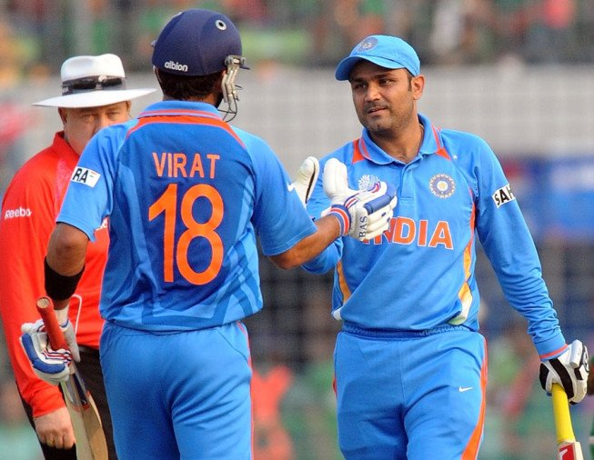 if BCCI Virat kohli is dominating in Team India so I would be coach says virender sehwag