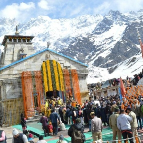 miracle during kedarnath dham door closing ceremony