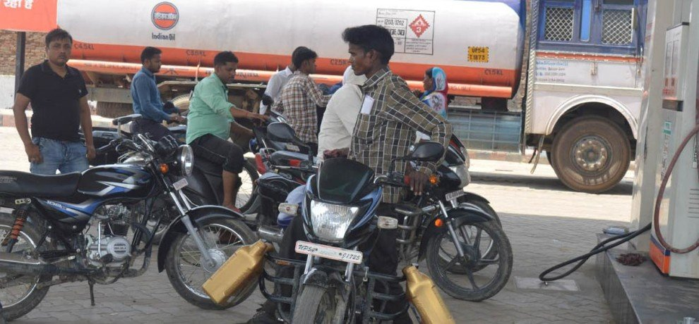 petrol, diesel prices rose to a high of 12 percent in last one month