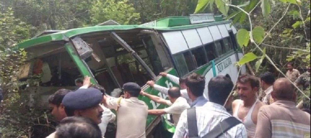 BUS ACCIDENT IN KANGRA TEN AMRITSAR PILGRIMS KILLED