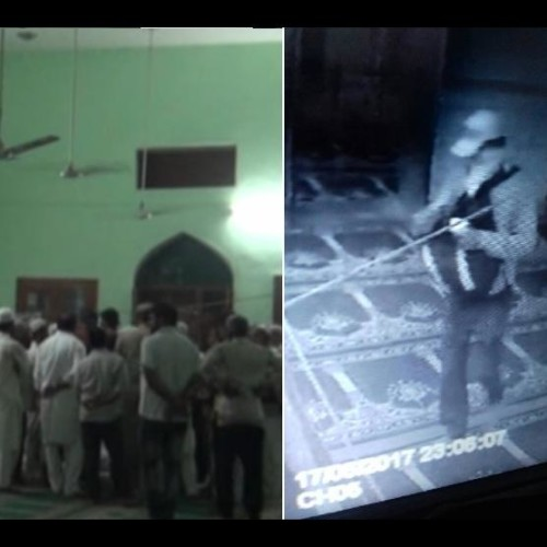 Live murder captured in cctv in sonipat