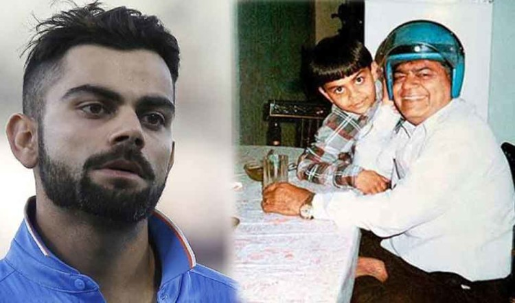 how death of virat kohli father made him a mature cricket player from an eighteen year old teen