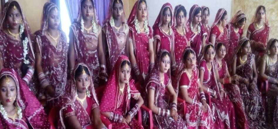 bride mehendi and haldi ceremony in sasural