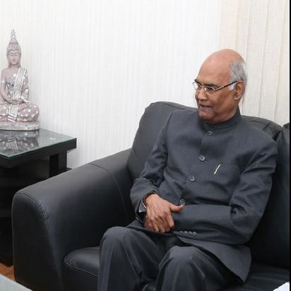 president candidate kovind convert his  ancestral home to baraatghar