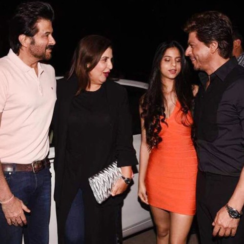 Gauri Khan Restaurant Launch Party, ShahRukh Arrives With Daughter Suhana