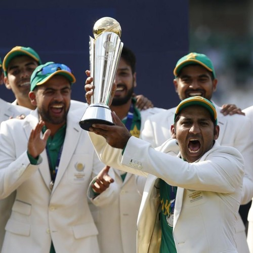 pakistan won champions trophy title with the indirect help from shastri and gavaskar