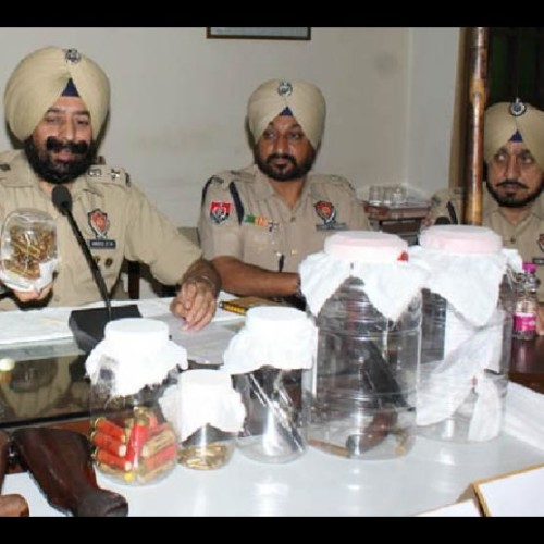 sangrur man fond of guns and to collect arms