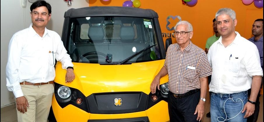 Eicher Polaris's Multix launched in delhi