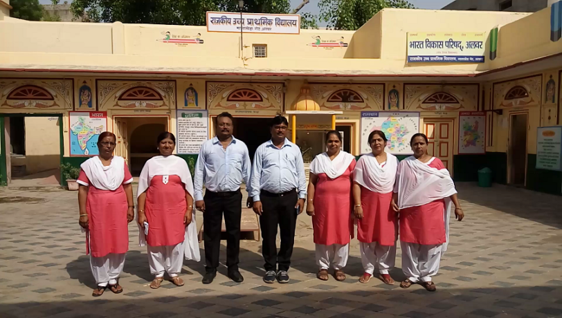 government school principle applied dress code for teachers in alwar