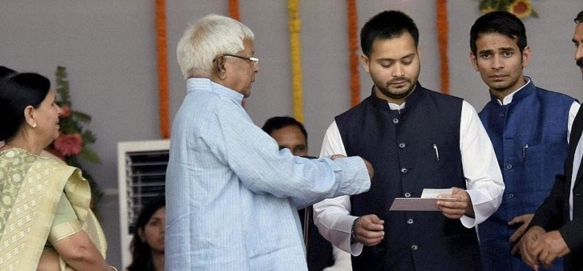 IT Dept attaches 12 plots of Misa Bharti, ihar deputy CM Tejashwi Yadav, former CM Rabri Devi