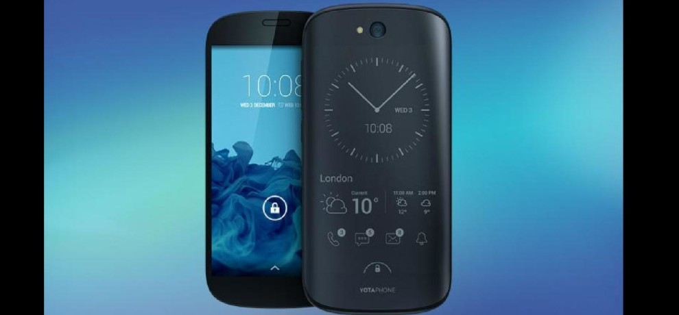 YotaPhone 3 is officially arriving later this year, This phone have Dual screen