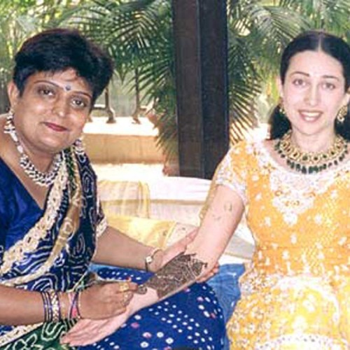 veena nagda is bollywood mehandi queen, rekha madhuri dixit dimple kapadia is her clients