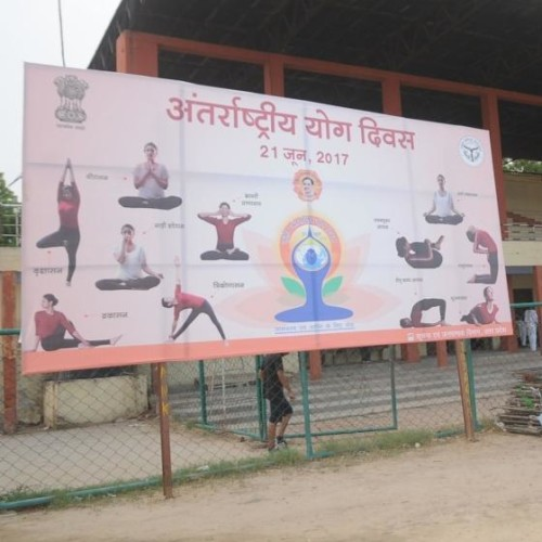 agra will have a big celebration in international yoga day