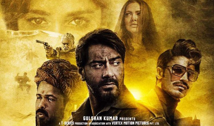 'Baadshaho' New Poster Out Starring Ajay Devgn, Emraan Hashmi, Ileana D'cruz, Teaser Out Today