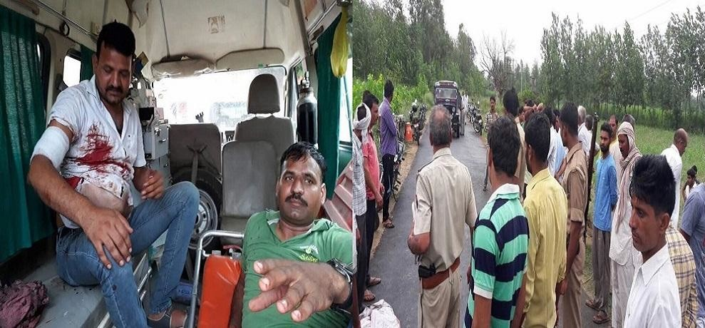 Saharanpur bawal : two killed, several injured, deployed Force