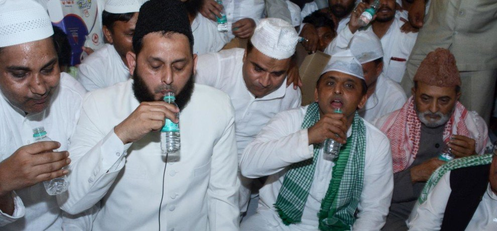 mulayam singh not attended sp iftar party for the first time