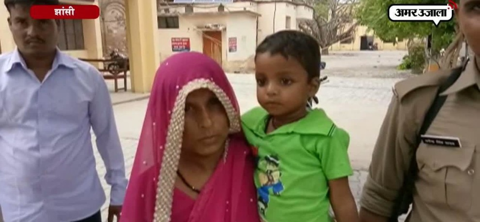 3 years old missing child prince found in jhansi