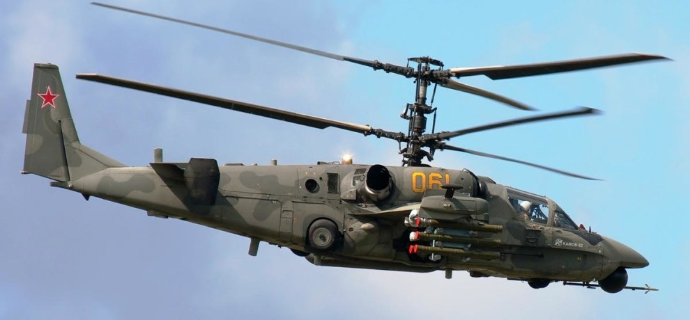 Kamov helicopter can be deal with Russia after F-16 deal from US