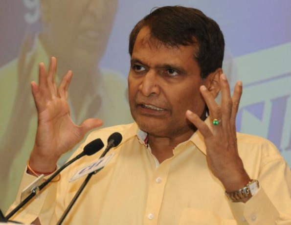 railway minister suresh prabhu will inaugrate many project from jaipur