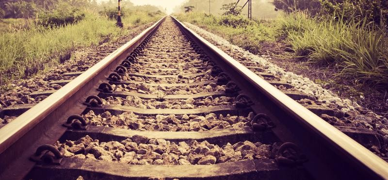 railway guard died after collided with train in alwar
