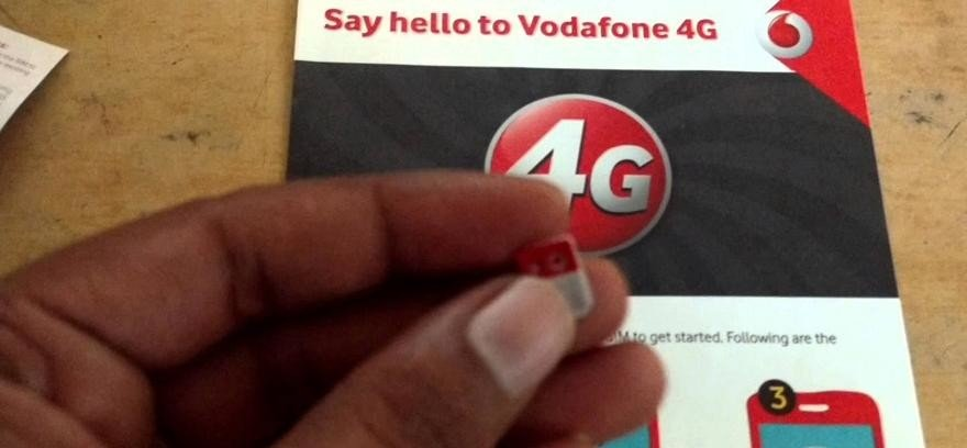 Vodafone India offers free 4GB Data on Upgradation to 4G SIM through Meru, Mega and Easy Cabs