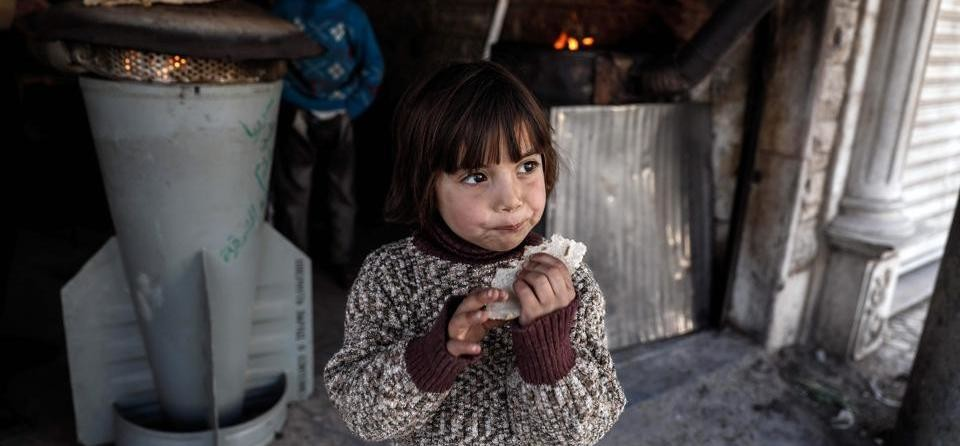 Syrian civil war has a bad effect on children, See photos