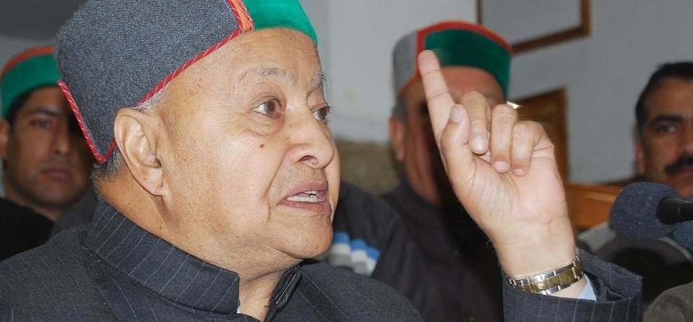 cm virbhadra singh statement regarding fighting election
