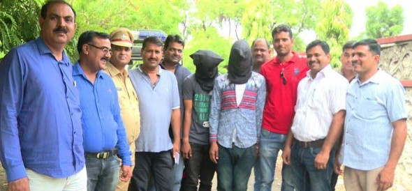 robbers arrested in kota