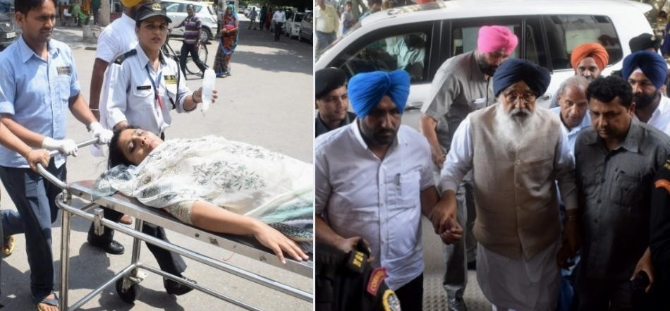 Punjab Assembly session, injured mla admitted to hospital
