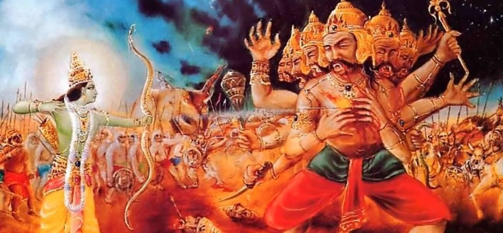 ravana told a lesson of life to lakshman before dying