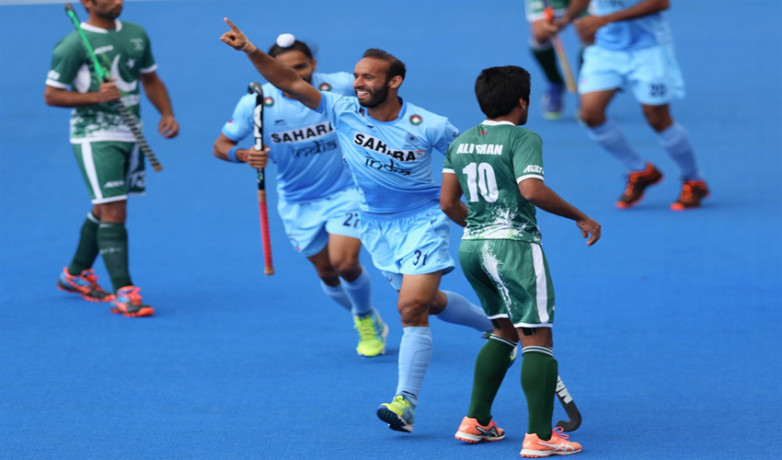 Hockey World League Semi-Final: second time india beat pakistan in this tournament