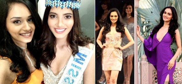 Manushi Chhillar wins the title of Miss India 2017