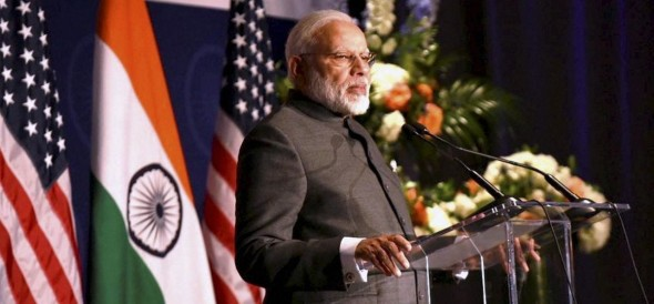 PM Modi talks on terrorism and surgical strikes while addressing Indian diaspora in Virginia, USA