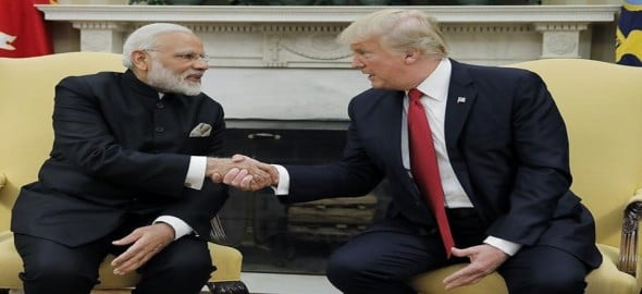 India and U.S. will destroy 'radical Islamic terrorism' together, says Trump