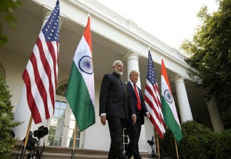 US President Donald Trump spoke with Prime Minister Narendra Modi