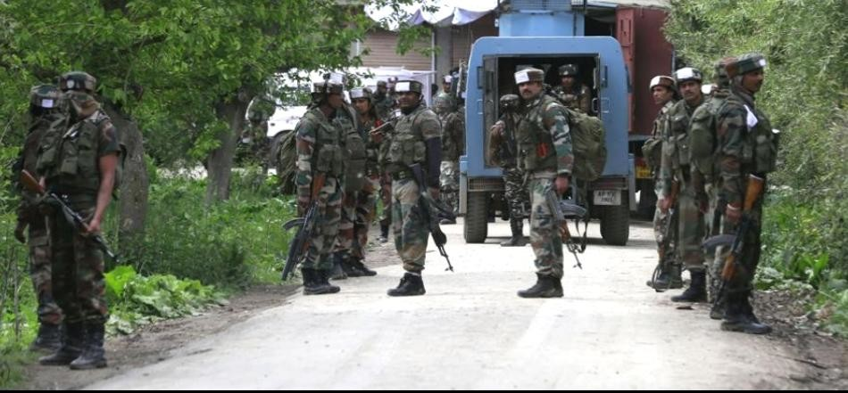 security forces killed Hizbul Mujahideen Chief Commander Yasin Ettu IN Shopian of jammu and kashmir