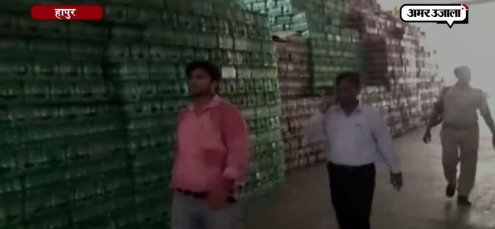 Expired cold drink bottles worth Rs. 6 Crores seized in hapur