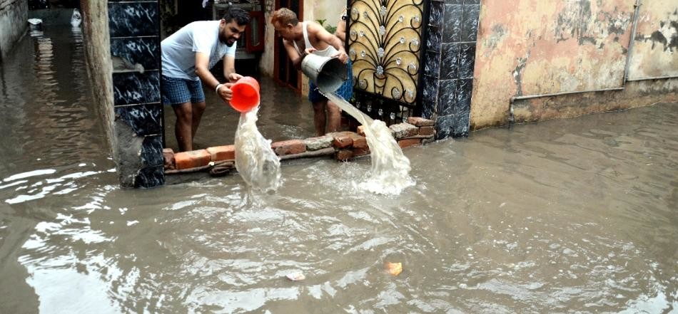 Heavy rain in Karnal haryana, Many records broken