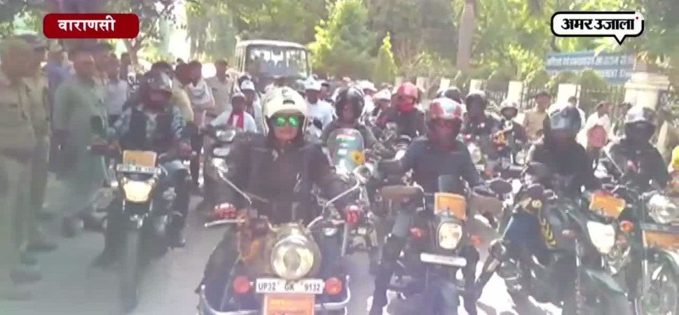 WOMEN BIKERS RALLY ORGANISED FOR WOMEN EMPOWERMENT IN LUCKNOW