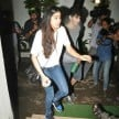 Jhanvi Kapoor and Ishaan Khattar spotted at the special screening of film Baby Driver