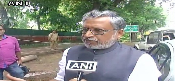 Sushil Modi accuses Lalu Yadav has sold the post of BPSC chairman for acquiring land