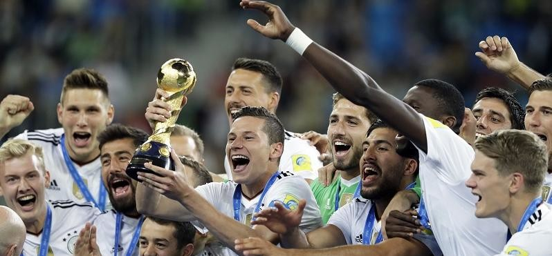 World Champion Germany won Confederations Cup title for the first time