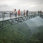 skywalk thrills in China