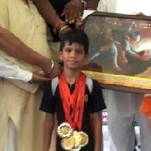 Iris Partap Singh Made a Record in skipping rope