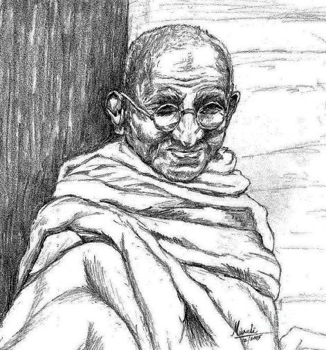 Mahatma Gandhi's Pencil Sketch Photo Will Be Auctioned In