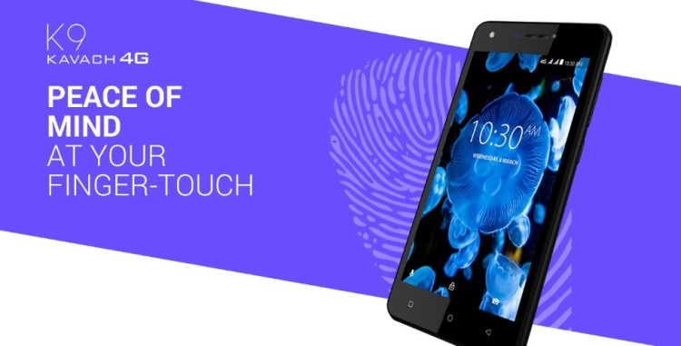 Karbonn Launched K9 Kavach 4G phone With BHIM App